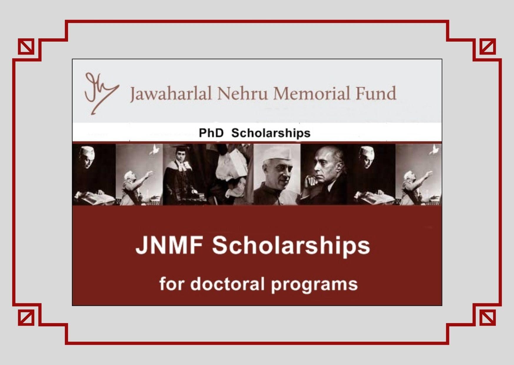 JNMF Scholarship 2021 Apply Eligibility Criteria jnmf.in