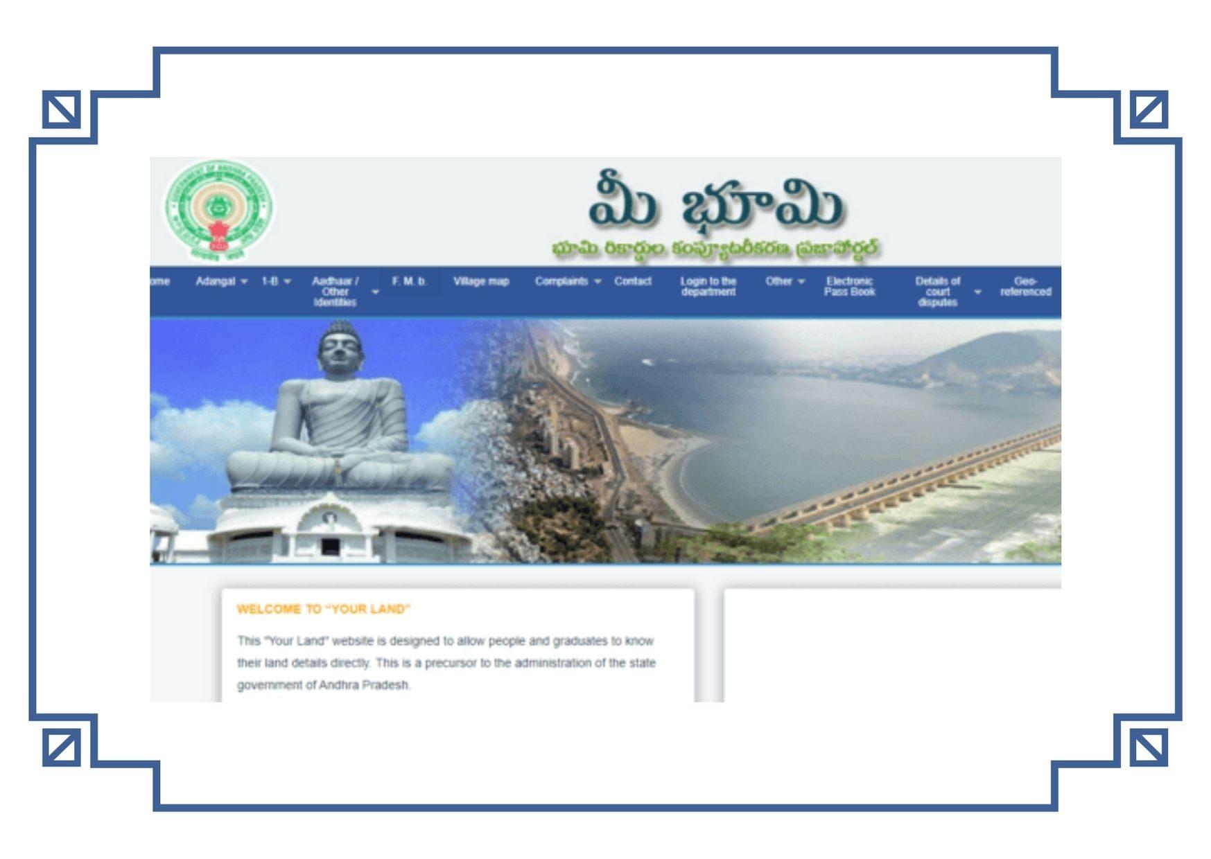 Search Meebhoomi AP Land Records Adangal, ROR, 1-B meebhoomi.ap.gov.in