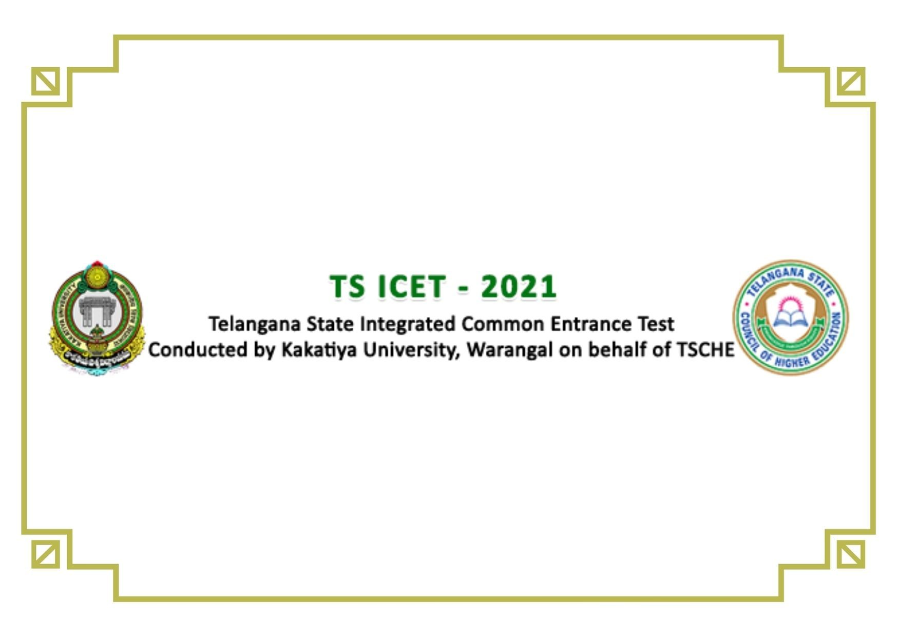 TS ICET 2021 Notification | Eligibility Criteria Apply Online at icet.tsche.ac.in